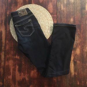 Silver Suki super stretch bootcut jeans